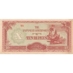 10 Rupias de 1942