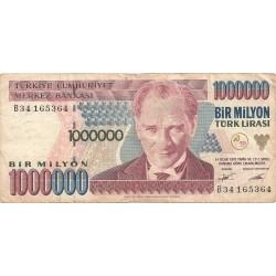 1000000 Liras de 1970