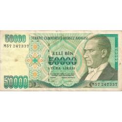 50000 Liras de 1970