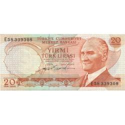 20 Liras de1970