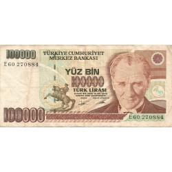 100000 Liras de 1970