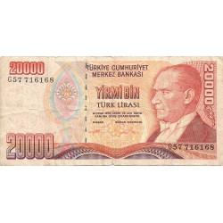 20000 Liras de 1970