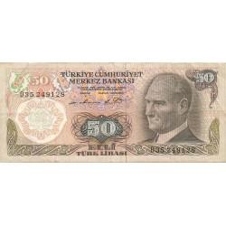 50 Liras de 1970