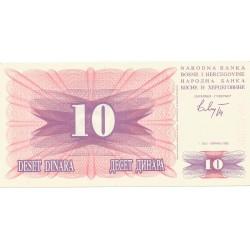 10 Dinares de 1992