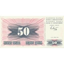 50 Dinares de 1992