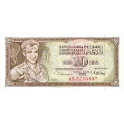 10 Dinares de 1968-82