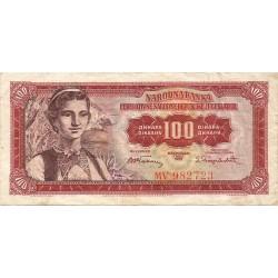 100 Dinares de 1955