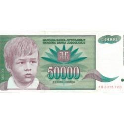 50000 Dinares de 1992