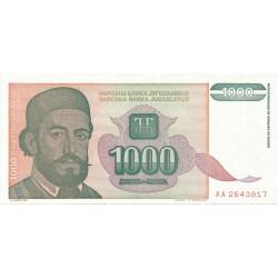 1000 Dinares de 1994
