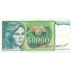 50000 Dinares de 1988