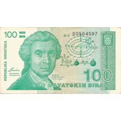 100 Dinares 1991