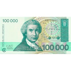 100000 Dinares de 1993