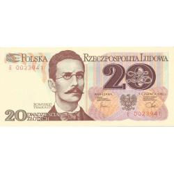 20 Zloty de 1982