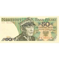 50 Zloty de 1986-88