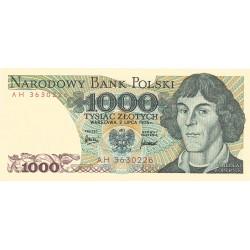 1000 Zlotys de 1975-82