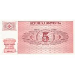 5 Tólar de 1990