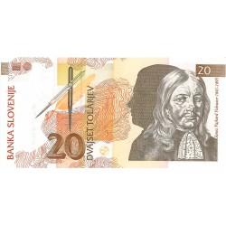 20 Tólar de 1992
