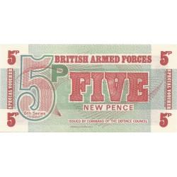 5 Nuevos Peniques de 1972