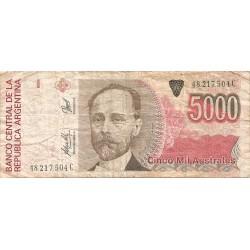 5000 Australes de 1989-81