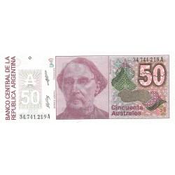 50 Australes de 1986-89