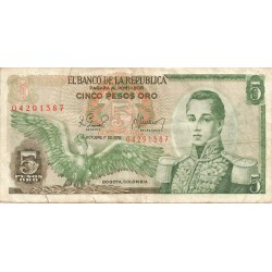 5 Pesos de 1978-79