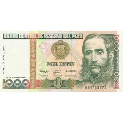 1000 Intis de 1988