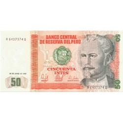 50 Intis de 1987