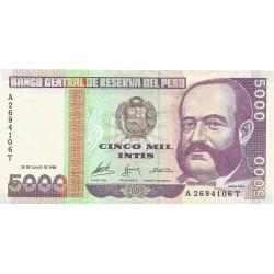 5000 Intis de 1988