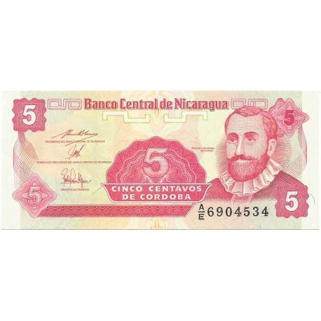 5 Centavos de 1991