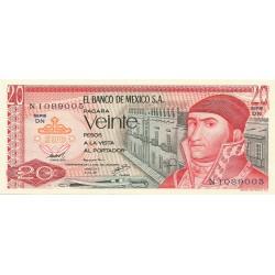 20 Pesos de 1977