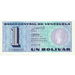 1 Bolivar de 1989