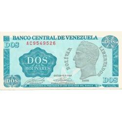 2 Bolivares de 1989