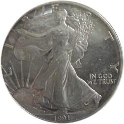 Dólar de Plata de 1991 S Proof