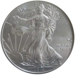 Dólar de Plata de 2014