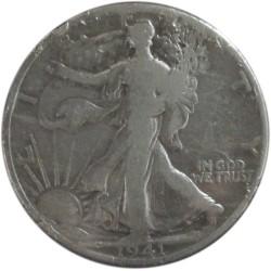 Medio Dólar de Plata de 1941