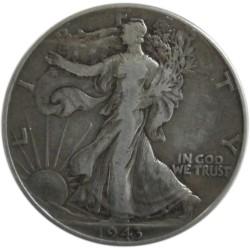 Medio Dólar de Plata de 1943