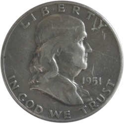 Medio Dólar de Plata de 1951 D