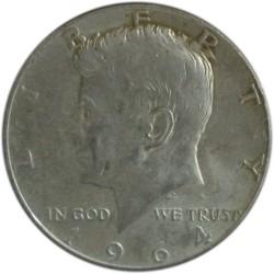 Medio Dólar de Plata de 1964