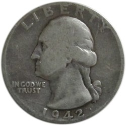 ¼ de Dólar de Plata de 1942-64
