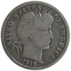 1 Dime de 1910