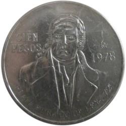 100 Pesos de 1978