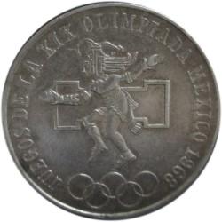 25 Pesos de1968