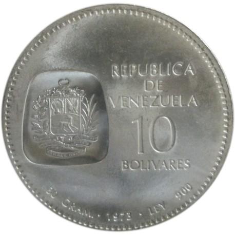 10 Bolívares de 1973