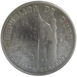 40 Centavos de 1952