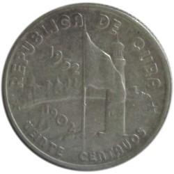 20 Centavos de 1952
