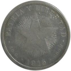 40 Centavos de 1915