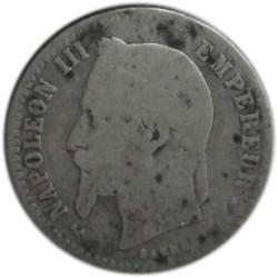 50 Céntimos de 1865 K