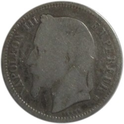 2 Francos de 1868