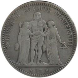 5 Francos de 1873