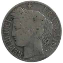1 Franco de 1887 A